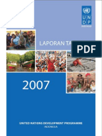 Laporan United Nations Development Programme (UNDP) Tahun 2007