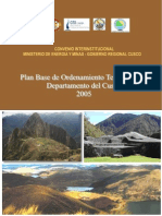 Plan Base OT Cusco