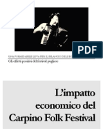 L'impatto Economico Del Carpino Folk Festival