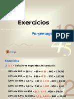 1º ANO - Exercícios Porcentagem