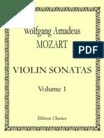 Mozart Sonatas Para Violin y Piano