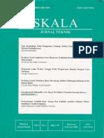 Karakteristik Hidraulik Arus Dasar Di Sekitar Terumbu Karang Buatan. Oki S Jurnal Teknik Skala Univ. Muhammadiyah Mataram Vol 2 No 1 ISSN 1693-959x