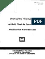 EM 1110-3-141 - Airfield Flexible Pavement - Mobilization Construction-Web