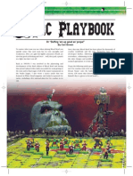 Blood Bowl Ork Playbook