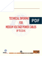 PVC XLPE Insulated Cables Up to 33kV