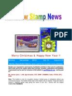 Rainbow Stamp News  December 2013