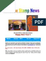 Rainbow Stamp News January 2014