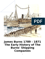 Burns Shipping Companies Early History