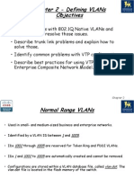 Chap 2 - Defining VLANs