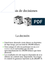 Analisis de Decisiones Revisado