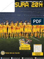 Programa Clausura2014 Sentiauriazul