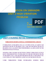 Presentation on Simhadri Unit-2 High Vibration