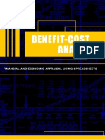 Cost and Benefit Analysis Book