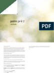 HP Palm Pre Manual