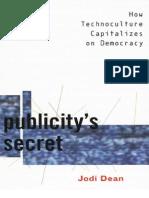 2002, Publicity's Secret