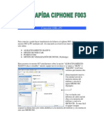 Manual ayuda f003 español