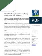 WPA Press Release - WWEA Support