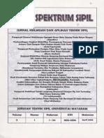 Studi Perubahan Rencana Detail dan Rencana Teknis Tata Ruang Kota Taliwang. Rini s.oki s Haryadi Jurnal Spectrum Unram Vol 2 no. 1 ISSN 1858-4896 April 2006