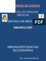 Inmunodeficiencias Secundarias