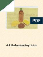 4.4 Understanding Lipids
