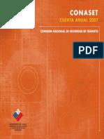 Conaset Cuenta Anual 2007