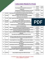 Dot Net 2013 IEEE Titless