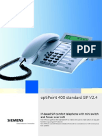 Telephone IP_OptiPoint 400