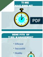 Time Mangement PPT