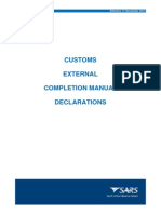 SC-CF-04 - Completion of Declarations - External Manual