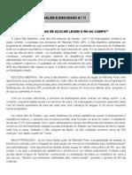 DRH -RAD11 - AS USINAS DE AÇÚCAR LEVAM O RH AO CAMPO