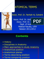 01 Anatomical Terms