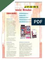 Electronic Brake