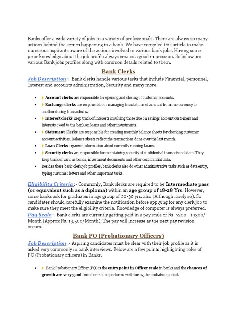 Doc728942 Loan Officer Job Description Loan Officer Job 1497664897 Loan  Officer Job Description