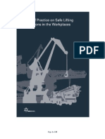 Code of Practice for Safe Lifting Operations at Workplaces Online