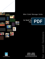 Mini Cold Storage Brochure
