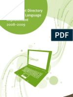 Internet Directory for English improving websites