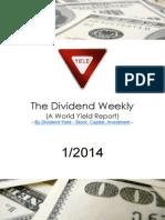 Dividend Weekly 01_2014