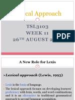 Eltm Lexical Approach