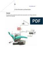 Dental Chair Description and Specification