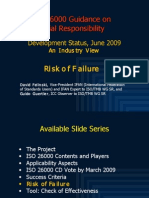 ISO 26000 (6) the Risk of Failure 2009-06n