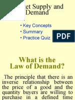 Micro Economics - Market Supply and Demand