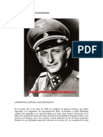 Argentina Ante El Caso Eichmann
