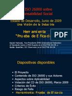 ISO 26000 (7) Herramienta Prueba de Eficacia 2009-06n