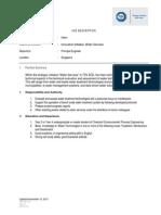 Job Description Intern Water Services TUV SUD