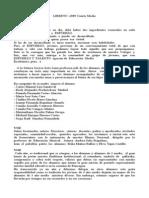 Libreto Licenciatura 4 Medio
