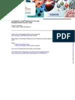 Barlett - Quantidade de Fosfatos