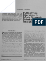 Lovelock C_1983_Classifying Services to Gain Strategic Marketing Insights_Journal of Marketing_47_pp. 9-20