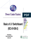 Basics of LV Switchboard-Presentation