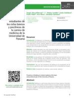 Prevalencia de bullying en estudiantes de los ciclos básicos y preclínicos de la carrera de medicina de la Universidad de Panamá