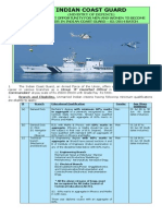 Notification Indian Coast Guard Asst Commandant Posts1